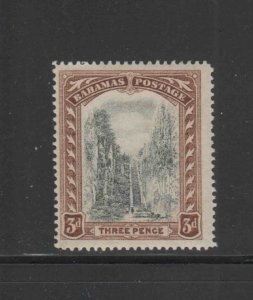 BAHAMAS #58  1917  3p QUEENS STAIRCASE   MINT VF NH  O.G  aa