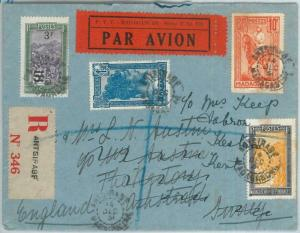 73734 - MADAGASCAR - Postal History - REGISTERED COVER from ANTSIRABE  1931