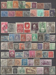 COLLECTION LOT OF #1137  PORTUGAL 64 STAMPS 1858+