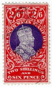 (I.B) Australia - NSW Revenue : Stamp Duty 2/6d