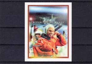Chad 1999 Sc#797 John Glenn return to Space SS Imperforated  MNH VF