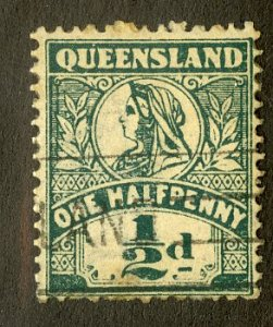 QUEENSLAND 124 USED SCV $2.75 BIN $1.25