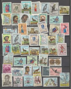 COLLECTION LOT # 2448 ANGOLA 109 ALL CONDITIONS STAMPS 1938+ CLEARANCE 2 SCAN
