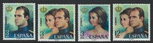 Spain Scott 1927-1930 MNH! Comlete Set!