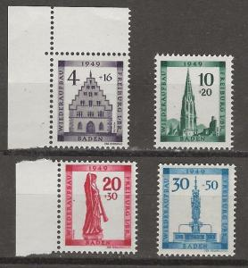 Germany 5NB5-8 MNH ( 5NB8 =Small top left corner bend) Discounted