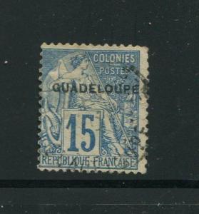 Guadeloupe #9 Used