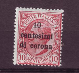 J10515 JL stamps 1919 WW1 italy ocupt austria mnh #n67 ovpt