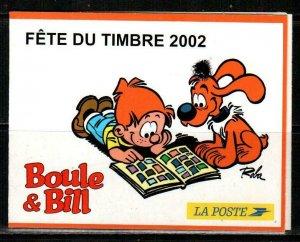 France Scott 2879b Mint NH booklet (Catalog Value $22.50)