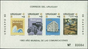 Uruguay Scott #1143a Mint Never Hinged