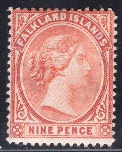FALKLAND ISLANDS SCOTT 17A