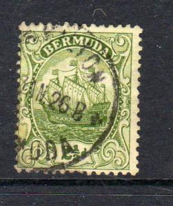 BERMUDA #86  1923  2 1/2p CARAVEL    F-VF USED  b