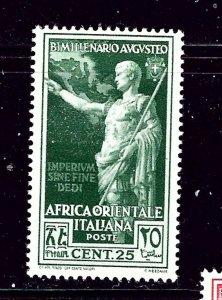 Italian East Africa 26 MH 1938 issue   #2