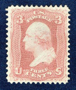 [0183] 1861 Scott#65 mint no gum cv:$50