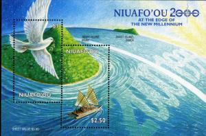 NIUAFO'OU 221 MNH S/S SCV $4.50 BIN $2.75 SHIP