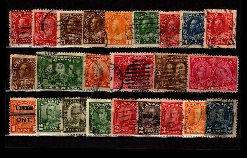 Canada 24 Used, with faults - C2799