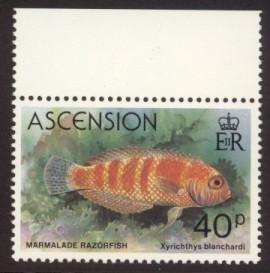 Ascension Sc# 265 MNH Fish