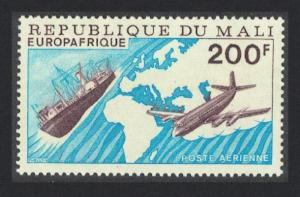 Mali Airplane Ship Europafrique SG#554 SC#C289