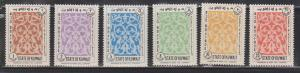 KUWAIT Scott # J1-6 MNH - Postage Due Set