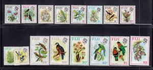 Fiji Scott #'s 305-320 Set VF mint never hinged nice colors scv $ 41 ! see pic !