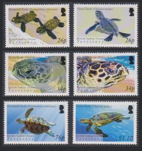 BIOT Turtles 6v SG#312-317 SC#290-295