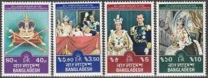 Bangladesh #145-8 MNH F-VF (V201)