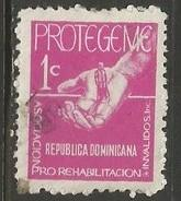 Dominican Republic RA50 VFU Z671-8
