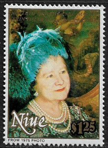 Niue #587 MNH Stamp - Queen Mother's 90th Birthday