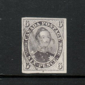 Canada #10 Very Fine+ Used With Light Cancel **With Certificate**