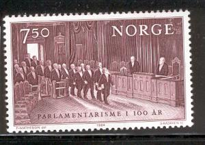 NORWAY 854 MNH PARLIAMENT CENTENARY 1984