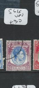 MALAYA MALACCA (PP2607B) KGVI  $1.00  SG 15  VFU