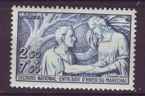 J24600 JLstamps 1941 france set hv of set mh #b113 people