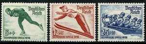 GERMANY 1935 FULL SET of 3 SG597-99 MH Wmk. w97 P.13.5 x 14 SUPERB CONDITION