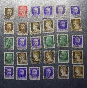 ITALY  ITALIANE Stamps stock card 1   1929  ~~L@@K~~