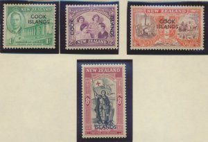 Cook Islands Stamps Scott #127 To 130, Mint Never Hinged - Free U.S. Shipping...