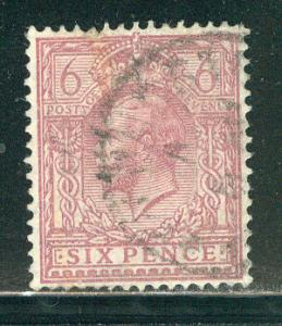Great Britain Scott # 195, used