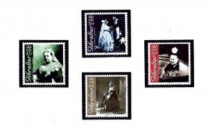 Gibraltar 860-63 MNH 2001 Queen Victoria  (KA)