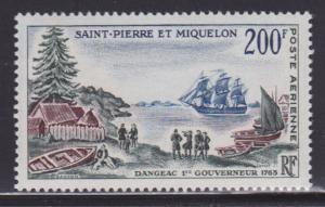 St Pierre & Miquelon C26 MNH nice color cv $ 26 ! see pic !