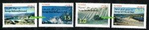 2020 - Tunisia - Tunisie - Tunisian Dams- Barrages Tunisiens- Compl.Set 4v.MNH**