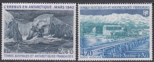 French Southern & Antarctic Territory Sc #C78-C79 MNH