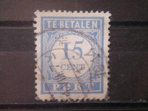 NETHERLANDS, 1913, used 15c, Scott J57