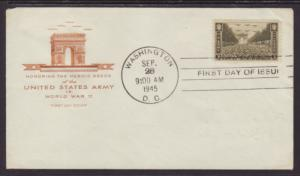 US 934 Army House of Farnam Pencil FDC