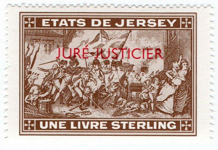 (I.B) Jersey Revenue : Justice £1