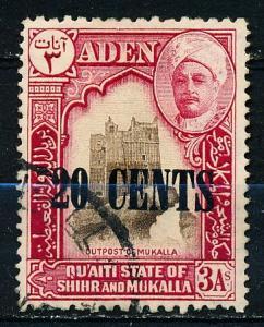 Aden Shihr & Mukalla #23 Single Used