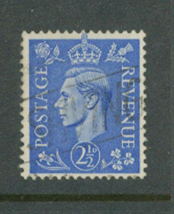 Great Britain GVI  SG 489 Good used