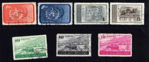 CHINA STAMP USED STAMP COLLECTION LOT #2