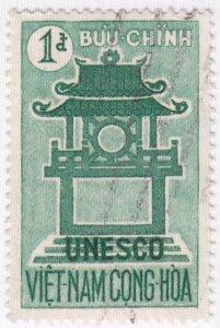 Viet Nam, Sc 178, Used, 1961, Temple