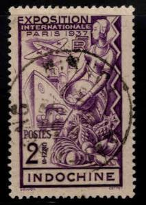 Indo-China Scott 193 Used from 1937 Paris expo set
