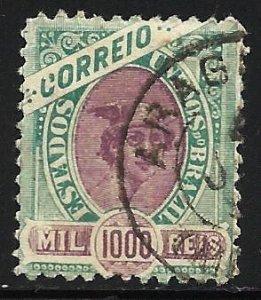 Brazil 1894 Scott# 122 Used
