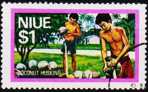 Niue. 1976 $1 S.G.206 Fine Used