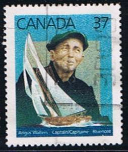 Canada #1228 Bluenose VF Used